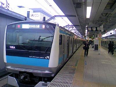 やなか信人のうらわ散歩 浦和駅ホーム
